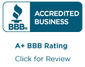 View our A+ rating with the Better Business Bureau